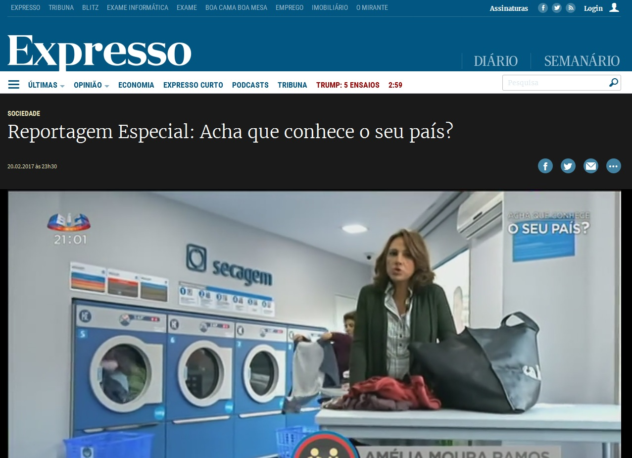 Expresso - Reportagem Especial: Acha que conhece o seu país?