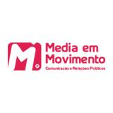 Logótipo Media em Movimento Comunicação e Relações Públicas