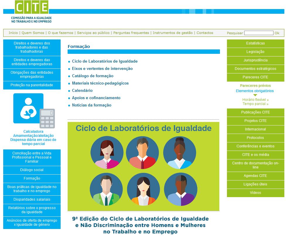 Ciclo de Laboratórios de Igualdade e Não Discriminação entre Homens e Mulheres no Trabalho e no Emprego