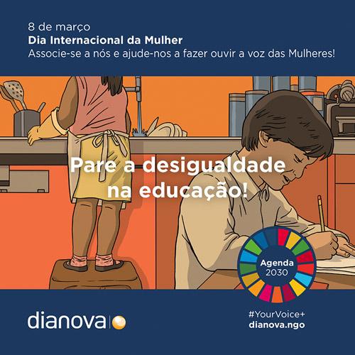 Dia Internacional Mulher Desigualdade Educação