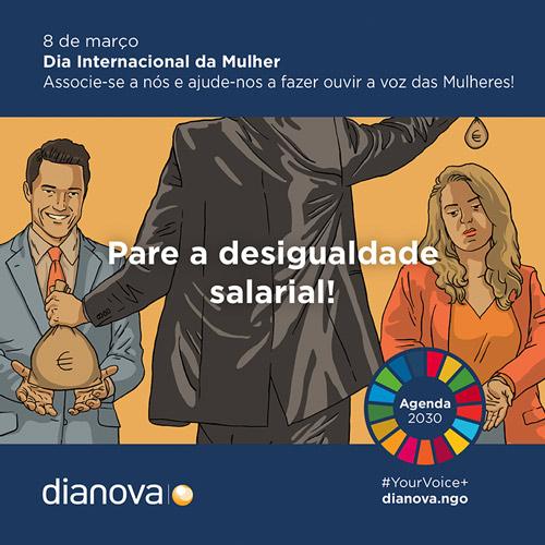 Dia Internacional Mulher Desigualdade Salarial