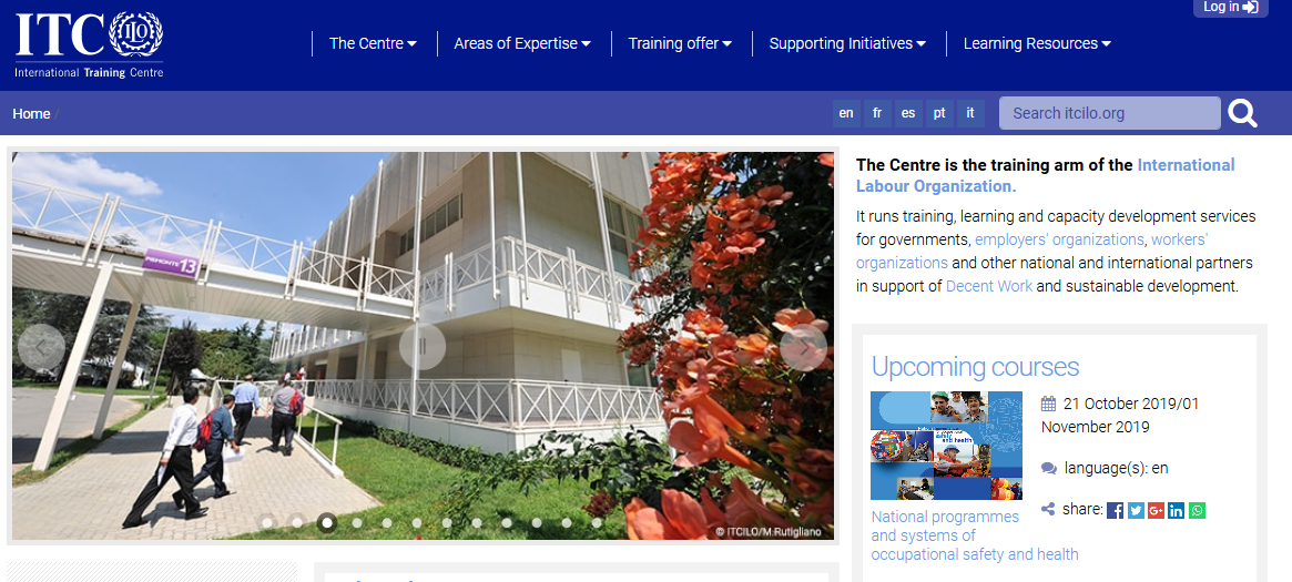 ITCILO – International Training Centre of the ILO